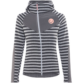 Edelrid Creek Fleece Jacket Women Grey